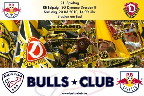 21. Spieltag: RB Leipzig – SG Dynamo Dresden II