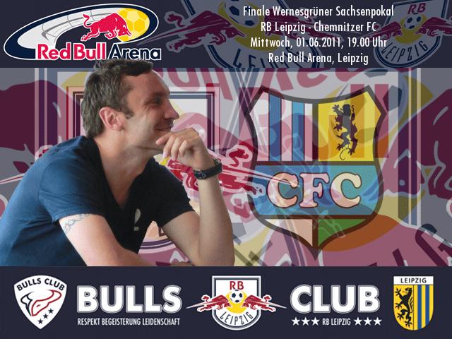 Finale Sachsenpokal: RB Leipzig – Chemnitzer FC