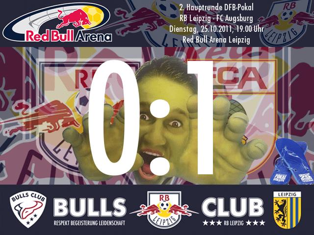Das Spiel: RB Leipzig – FC Augsburg 0:1