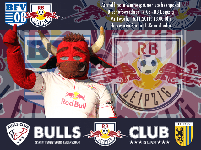 Achtelfinale Wernesgrüner Sachsenpokal: Bischofswerdaer FV 08 – RB Leipzig