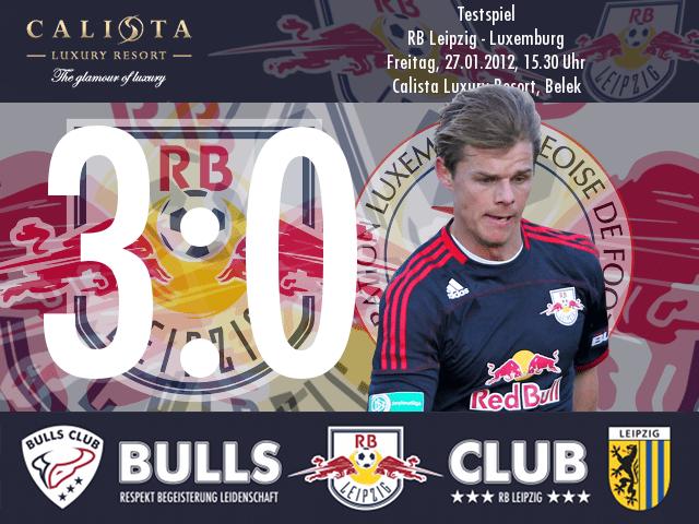 Testspiel: RB Leipzig – Luxemburg 3:0