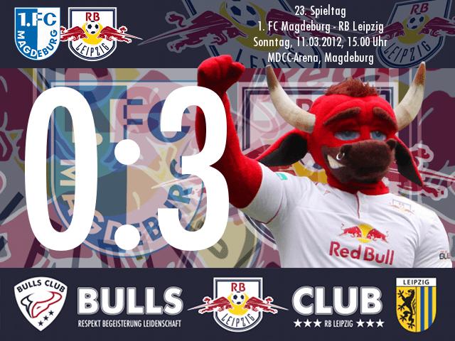 Das Spiel: 1. FC Magdeburg – RB Leipzig 0:3