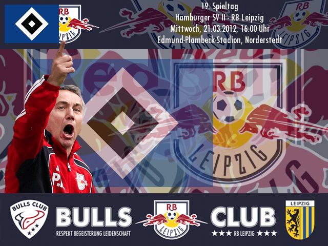 19. Spieltag: Hamburger SV II – RB Leipzig