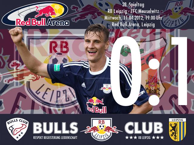 Das Spiel: RB Leipzig – ZFC Meuselwitz 0:1
