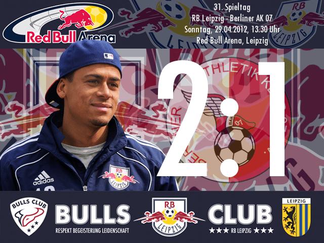 Das Spiel: RB Leipzig – Berliner AK 07 2:1