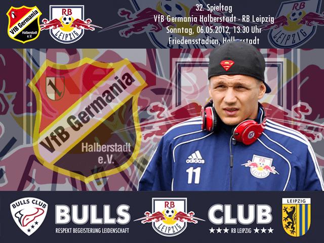32. Spieltag: VfB Germania Halberstadt – RB Leipzig