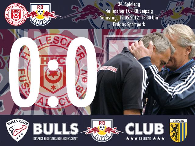 Das Spiel: Hallescher FC – RB Leipzig 0:0