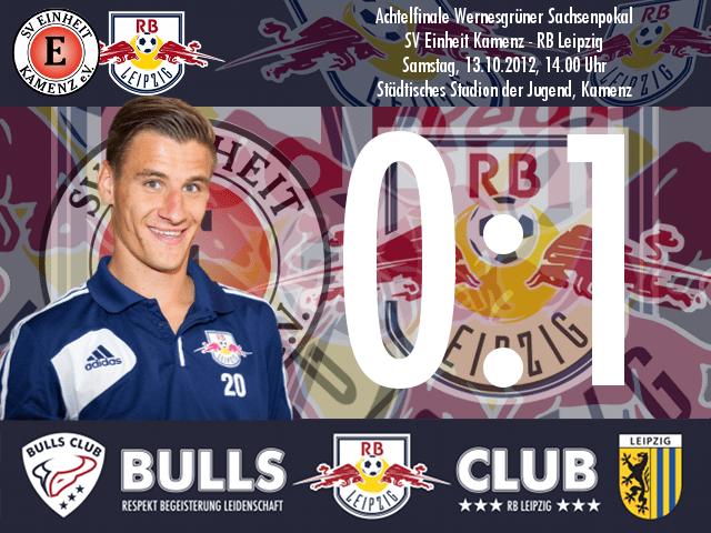Das Spiel: SV Einheit Kamenz – RB Leipzig 0:1