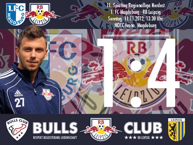 Das Spiel: 1. FC Magdeburg – RB Leipzig 1:4