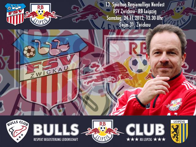 13. Spieltag: FSV Zwickau – RB Leipzig
