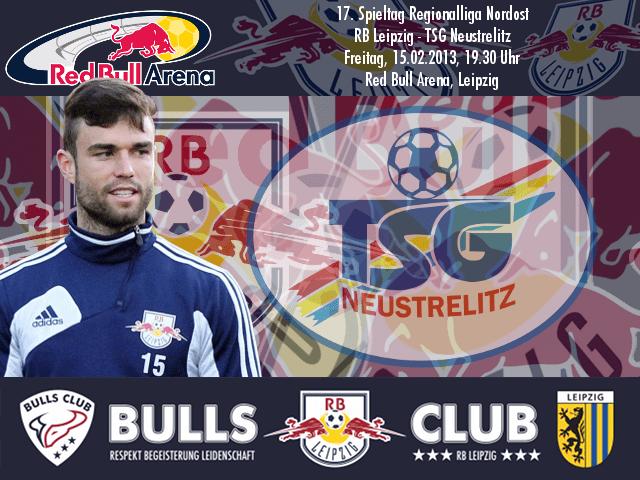17. Spieltag: RB Leipzig – TSG Neustrelitz