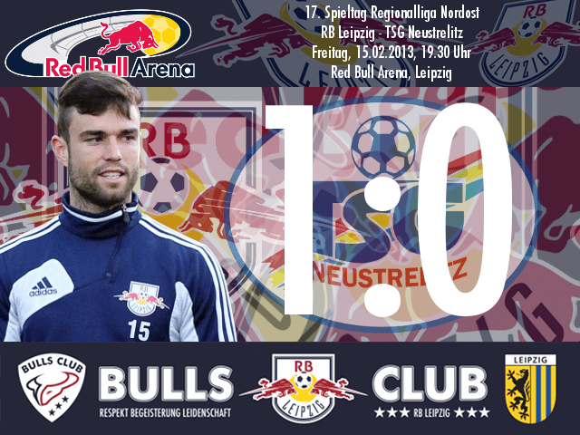 Das Spiel: RB Leipzig – TSG Neustrelitz 1:0