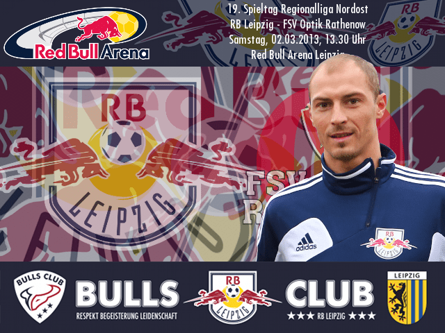 19. Spieltag: RB Leipzig – FSV Optik Rathenow