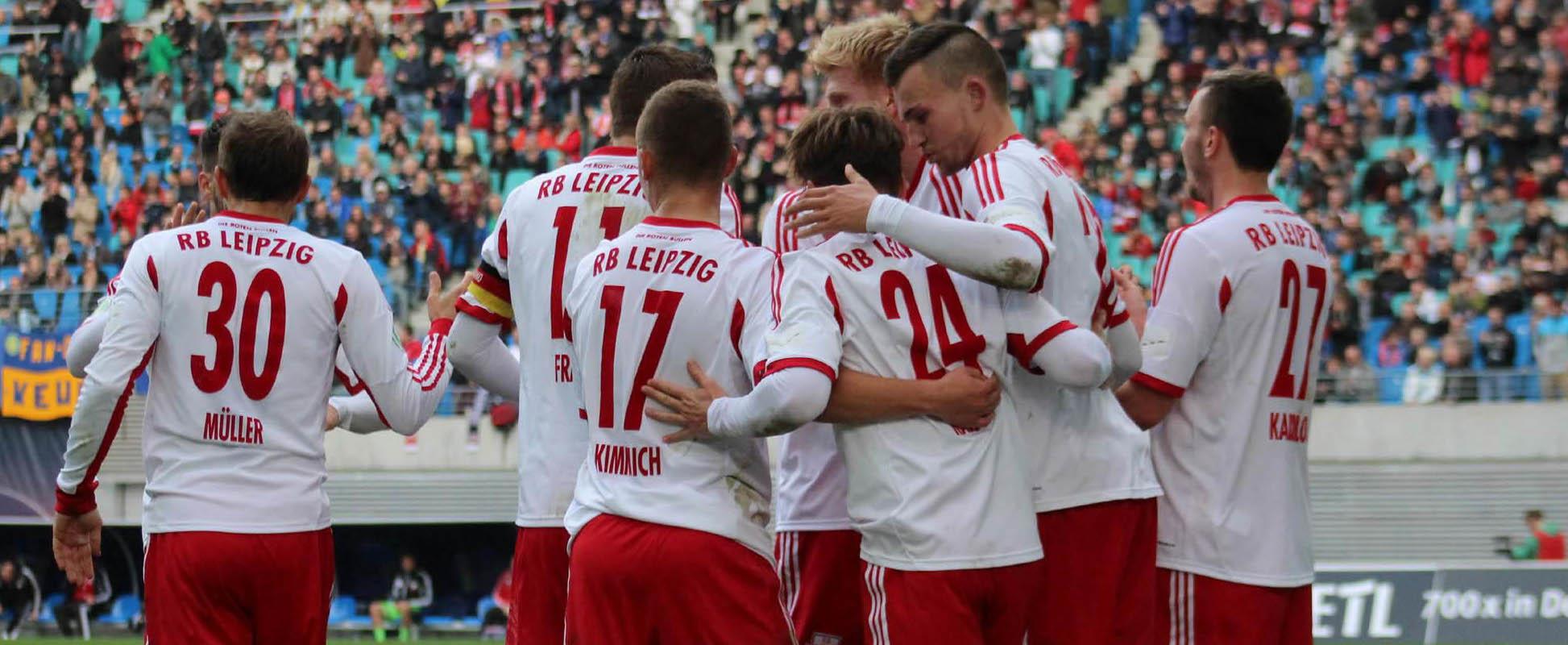 3. Runde Wernesgrüner Sachsenpokal: 1. FC Lokomotive Leipzig – RB Leipzig 0:2