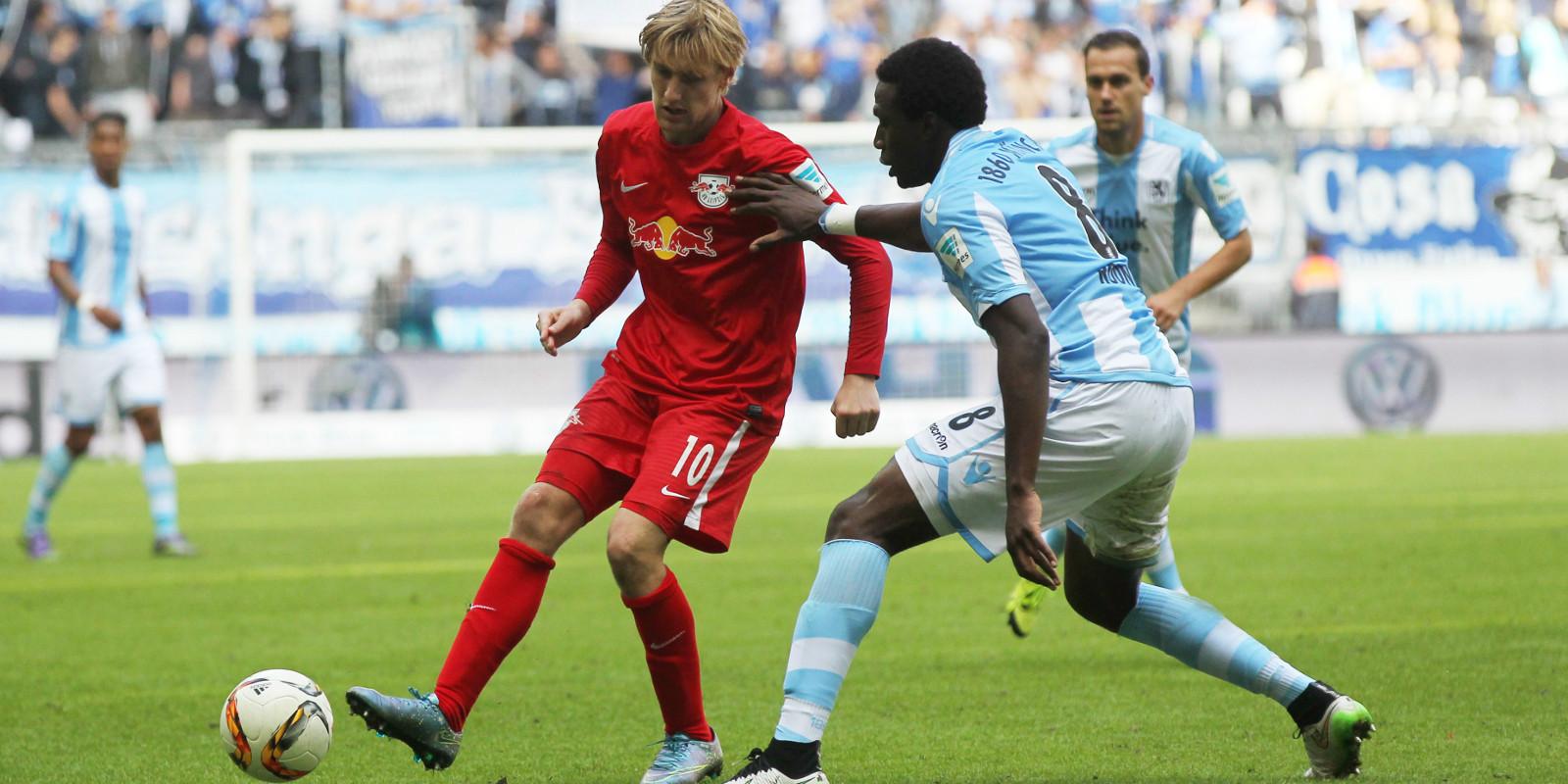 9. Spieltag: TSV 1860 München - RB Leipzig 2:2