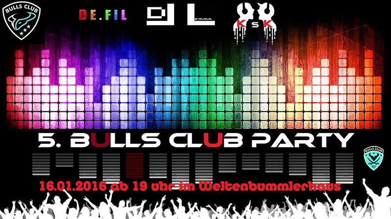 5. BULLS CLUB PARTY